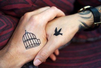 Nettoyer tatouage